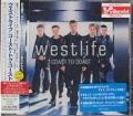 WESTLIFE Coast To Coast JAPAN CD w/3 Bonus Tracks