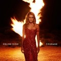 CELINE DION Courage USA 2LP Clear Red Vinyls