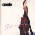 SUEDE She's In Fashion UK 2 Track CD5