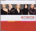 STEPS It's The Way You Make Me Feel HOLLAND CD5 w/4 Tracks
