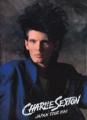 CHARLIE SEXTON 1986 JAPAN Tour Program