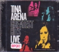 TINA ARENA Greatest Hits Live AUSTRALIA CD+DVD