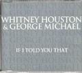 WHITNEY HOUSTON & GEORGE MICHAEL If I Told You That UK CD5