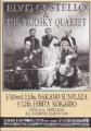 ELVIS COSTELLO & THE BRODSKY QUARTET 1993 JAPAN Promo Tour Flyer