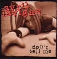 AVRIL LAVIGNE Don't Tell Me USA CD5 Promo Only