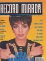 LIZA MINNELLI Record Mirror (3/10/90) UK Magazine