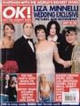 LIZA MINNELLI OK! (3/28/02) UK Magazine