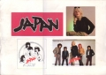 JAPAN JAPAN Sticker Sheet Promo Only