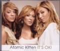 ATOMIC KITTEN It's Okay UK CD5 w/Exclusive Poster