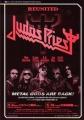 JUDAS PRIEST 2005 JAPAN Promo Tour Flyer