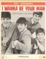 BEATLES I Wanna Be Your Man USA Sheet Music