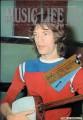 MICK JAGGER Music Life (2/73) JAPAN Music Magazine