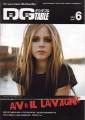 AVRIL LAVIGNE DGtable (6/04) JAPAN Magazine