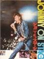 JOHNNY ON STAGE Original JAPAN Movie Program JOHNNY HALLYDAY
