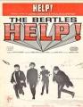 BEATLES Help! USA Sheet Music