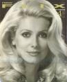 CATHERINE DENEUVE New Flix (4/91) JAPAN Magazine