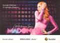 MADONNA Confessons Tour RUSSIA Postcard