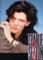 CHARLIE SEXTON 1989 JAPAN Tour Program
